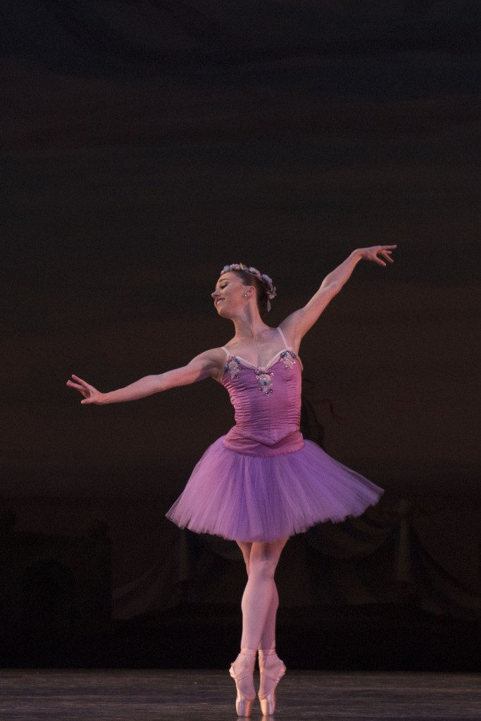 Rebecca King in George Balanchine's Raymonda Variations.