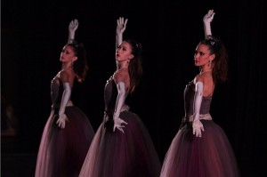 La Valse's Three Ladies as danced by Miami City Ballet. Photo by Leigh-Ann Esty