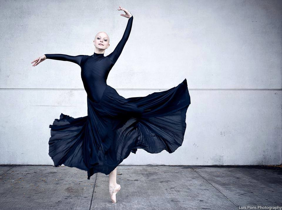 The Bald Ballerina Uses #TheTurningChallenge to Raise ...