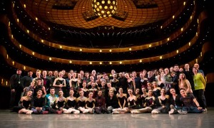 Miami City Ballet Company photo on the Koch Theater stage. Photo © Alexander Iziliaev